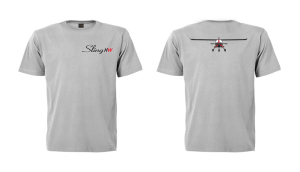 sling high wing large grey t shirt 2 side embroidered 600x344 - Sling 4 High Wing Two Side Embroidered Unisex Crew Neck T-Shirt