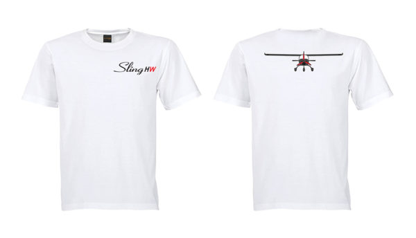 sling high wing large white t shirt 2 side embroidered 600x344 - Sling 4 High Wing Two Side Embroidered Unisex Crew Neck T-Shirt