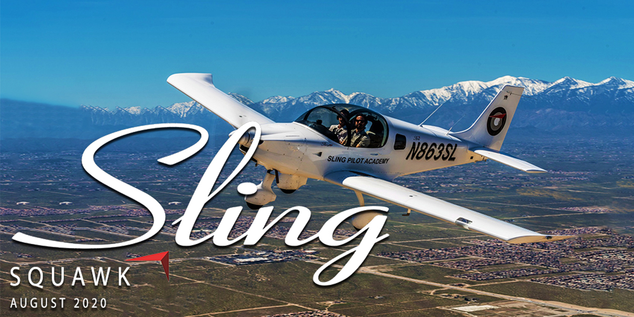 the sling aircraft squaek august 2020 newsletter
